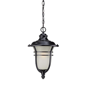 Montclair Matte Black One Light Hanging Lantern Fixture