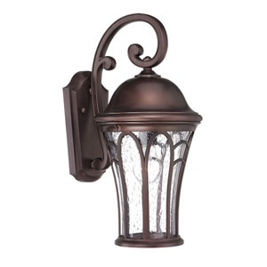 Highgate Architectural Bronze Nine-Inch One-Light Outdoor Wall Mount