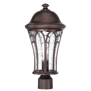 Highgate Architectural Bronze One-Light Outdoor Post Mount