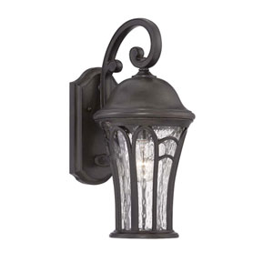 Highgate Black Coral Three-Light Outdoor Wall Mount
