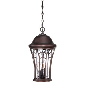 Highgate Architectural Bronze Three-Light Outdoor Pendant