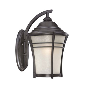 Vero Black Coral Six-Inch One-Light Outdoor Wall Mount
