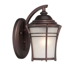 Vero Architectural Bronze Eight-Inch One-Light Outdoor Wall Mount