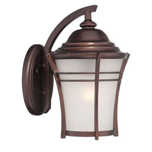 Vero Architectural Bronze 10-Inch One-Light Outdoor Wall Mount