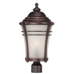 Vero Architectural Bronze One-Light Outdoor Post Mount