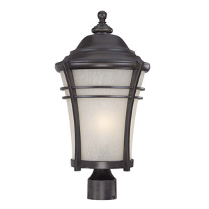 Vero Black Coral One-Light Outdoor Post Mount
