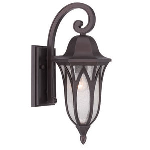 Milano Architectural Bronze One-Light Outdoor Wall Mount