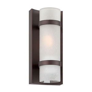 Apollo Architectural Bronze One-Light Outdoor Wall Mount