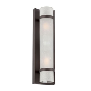 Apollo Architectural Bronze Two-Light Outdoor Wall Mount