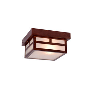 Artisan Architectural Bronze One-Light Outdoor Ceiling Mount