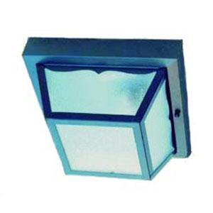 Builders Choice Matte Black One-Light Ceiling Fixture