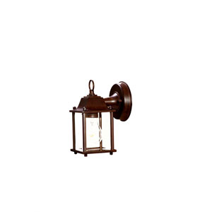 Builders Choice Burled Walnut Wall Lantern