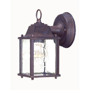 Builders Choice Burled Walnut One-Light Wall Lantern