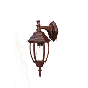 Wexford Burled Walnut One-Light Wall Fixture