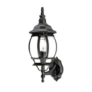 Chateau Matte Black Wall Lantern
