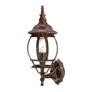 Chateau Burled Walnut Wall Lantern