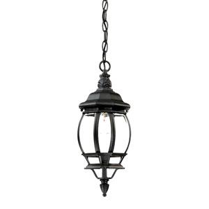 Chateau Matte Black Hanging Lantern
