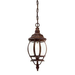 Chateau Burled Walnut Hanging Lantern