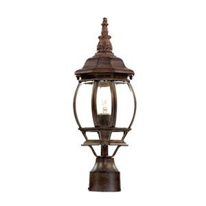 Chateau Burled Walnut Post Lantern