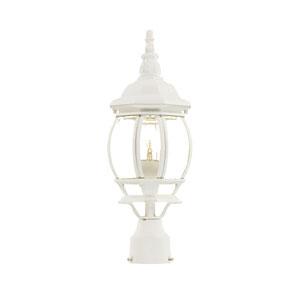 Chateau Textured White Post Lantern
