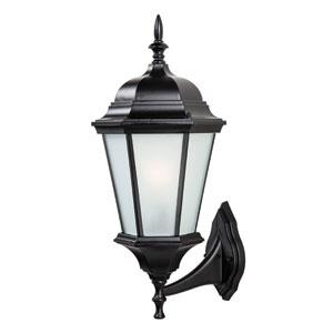 Richmond Matte Black Outdoor Wall Lantern