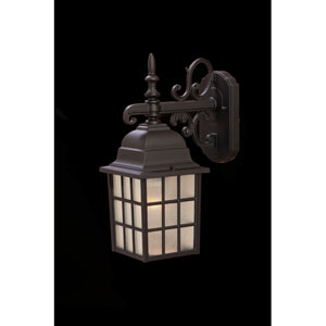 Nautica Matte Black One-Light Wall Fixture