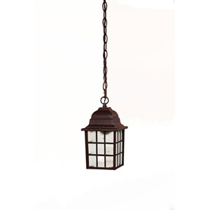 Nautica Burled Walnut One-Light Hanging Fixture