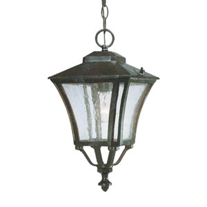 Tuscan Marbleized Mahogany One-Light 16.5-Inch Outdoor Pendant