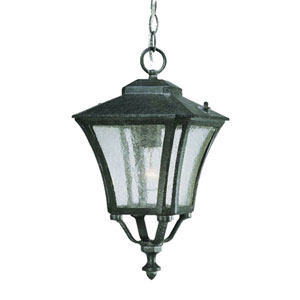 Tuscan Stone One-Light 16.5-Inch Outdoor Pendant