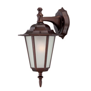 Camelot Small Wall Lantern with Architectural Bronze Finish