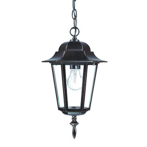 Camelot Architectural Bronze One-Light Hanging Fixture
