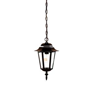 Camelot Matte Black Hanging Lantern