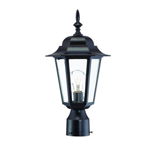 Camelot Architectural Bronze One-Light Post Head