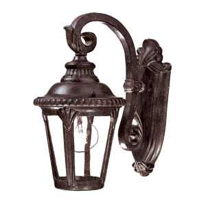 Surrey Black Coral One-Light 12.25-Inch Outdoor Wall Mount