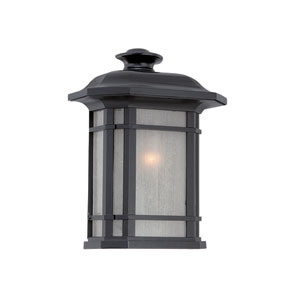 Somerset Matte Black Outdoor Pocket Lantern