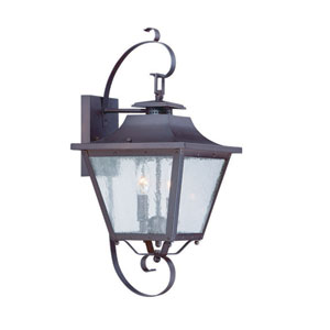 Lafayette Architectural Bronze Two-Light Outdoor Wall Mount