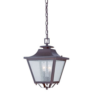 Lafayette Architectural Bronze Two-Light Outdoor Hanging Lantern