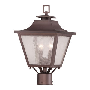 Lafayette Architectural Bronze Two-Light Outdoor Post Mount