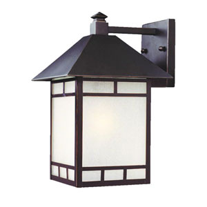 Artisan Architectural Bronze One-Light 15.5-Inch Outdoor Wall Mount