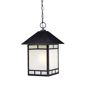 Artisan Architectural Bronze One-Light 16-Inch Outdoor Pendant