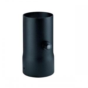 Matte Black Mounting Collar with Photo Sensor Control