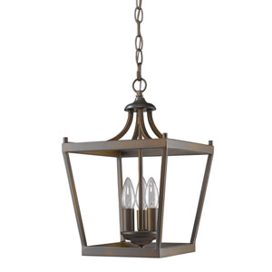 Kennedy Oil Rubbed Bronze Three-Light Chandelier