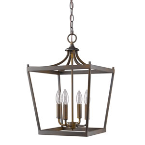 Kennedy Oil Rubbed Bronze Four-Light Chandelier