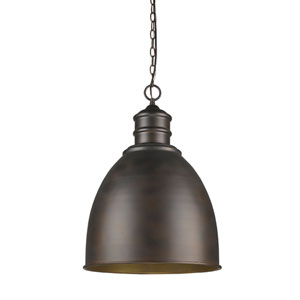 Colby Oil Rubbed Bronze One-Light Pendant