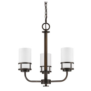 Alexis Oil Rubbed Bronze Three-Light Chandelier