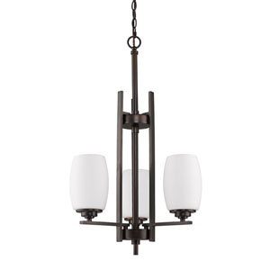 Sophia Oil Rubbed Bronze Three-Light Chandelier