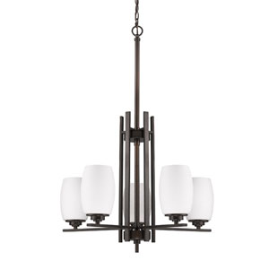 Sophia Oil Rubbed Bronze Five-Light Chandelier
