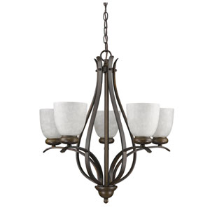 Alana Oil Rubbed Bronze Five-Light Chandelier