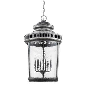 Kingston Antique Lead 22-Inch Six-Light Indoor Lantern