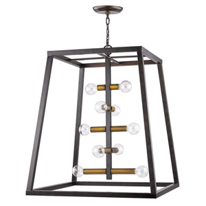Tiberton Oil Rubbed Bronze 32-Inch One-Light Pendant